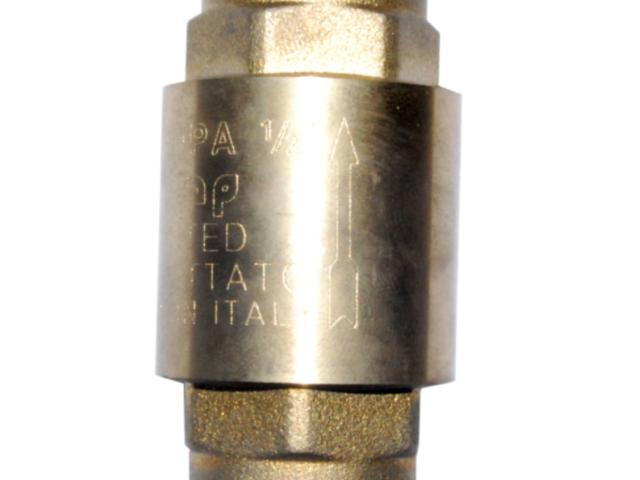 Brass Check Valve (Vertical)