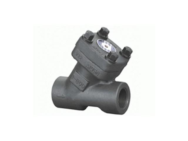 Y-Type Forged Check Valve