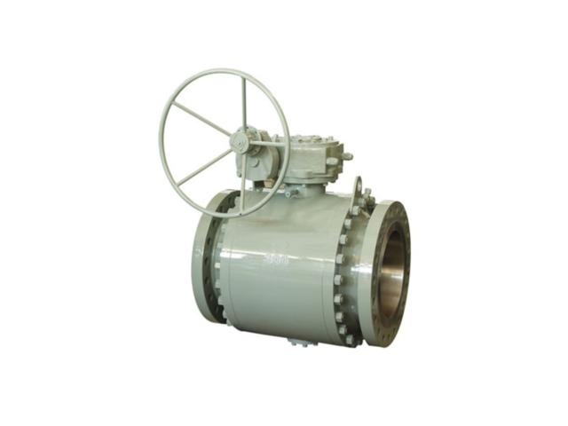 Class 150~1500 forged steel trunnion ball valve