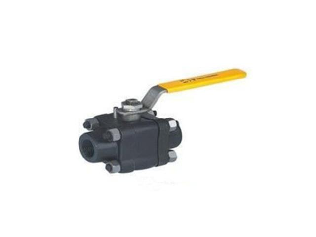 Three Pieces Forged Ball Valve
