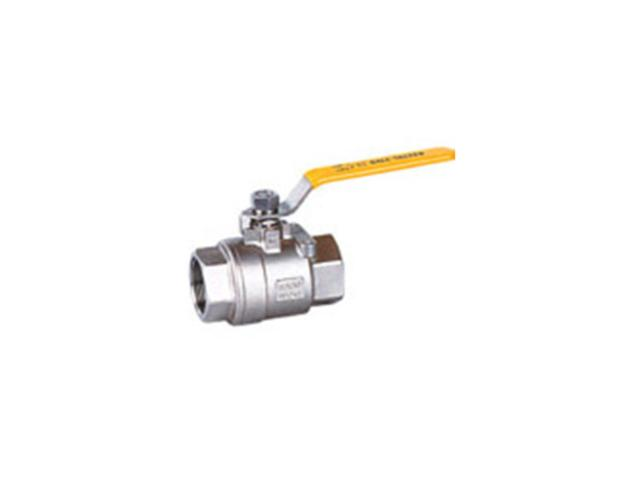 Two-piece model ball valve