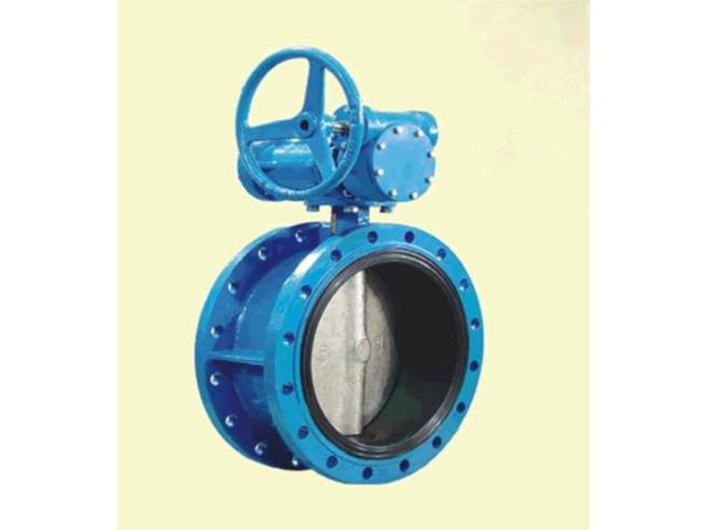 Flanged Contentric Disc Butterfly Valve