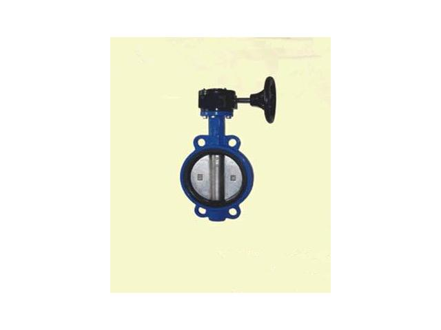 Worm Gear Wafer Butterfly Valve