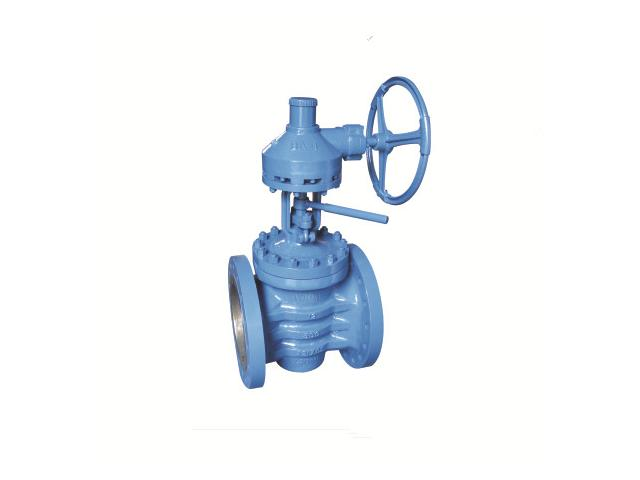 Flange Connection Lifting Plug Valve